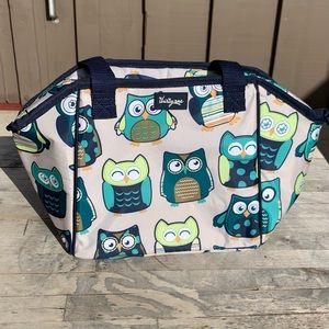 Thirty-One Owl Insulated Lunch Bag